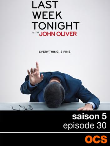 Last Week Tonight With John Oliver saison 5